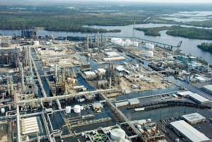 """""""Flooded Refinery."""" Photo shared through PBS NewsHour photostream on flickr."""