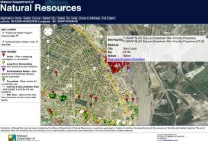 FUSREP SLDS Map