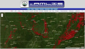 Abandoned Mine Lands Map 2013