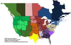MO NERC Regions Map