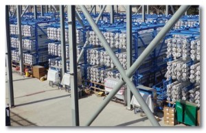 Figure 15: Reverse Osmosis Vessels Would Be Used in Most California Desalination Plants. Source: San Diego County Water Authority.