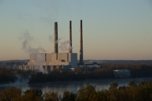 The Labadie Energy Center at Dawn on a Fall Morning. Photo by John May.
