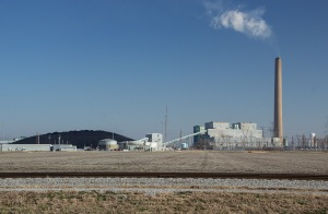 Figure 6. The New Madrid Power Station. Photo by John May.