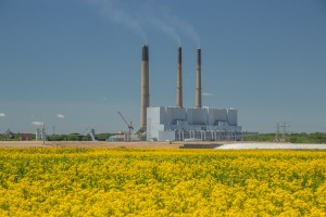 The Labadie Energy Center on a Spring Morning. Photo by John May.