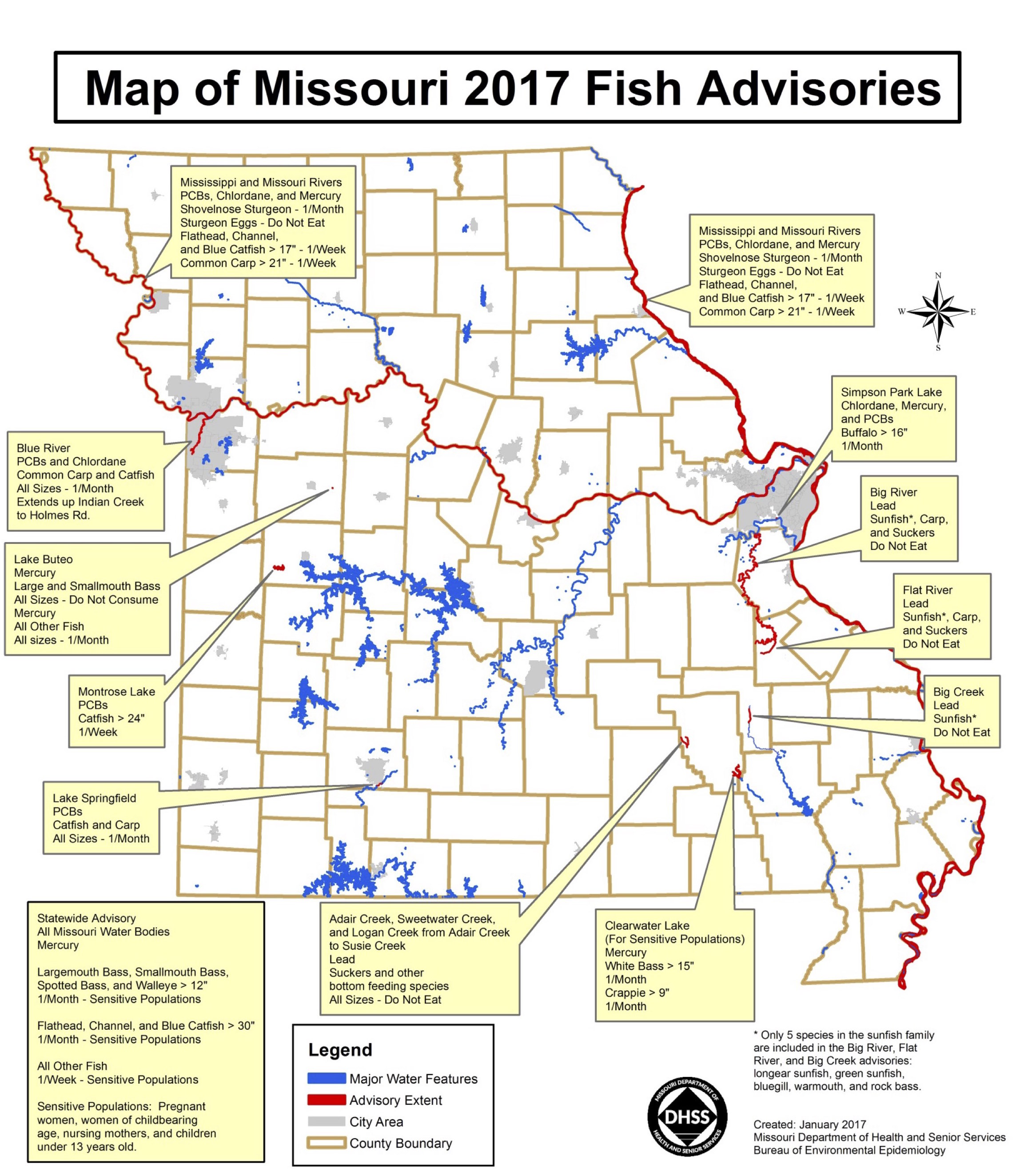 Missouri fish advisory for 2017 mogreenstats figure 1 source missouri department of health and senior services pooptronica