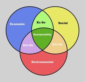 Figure 1. The triple bottom line.