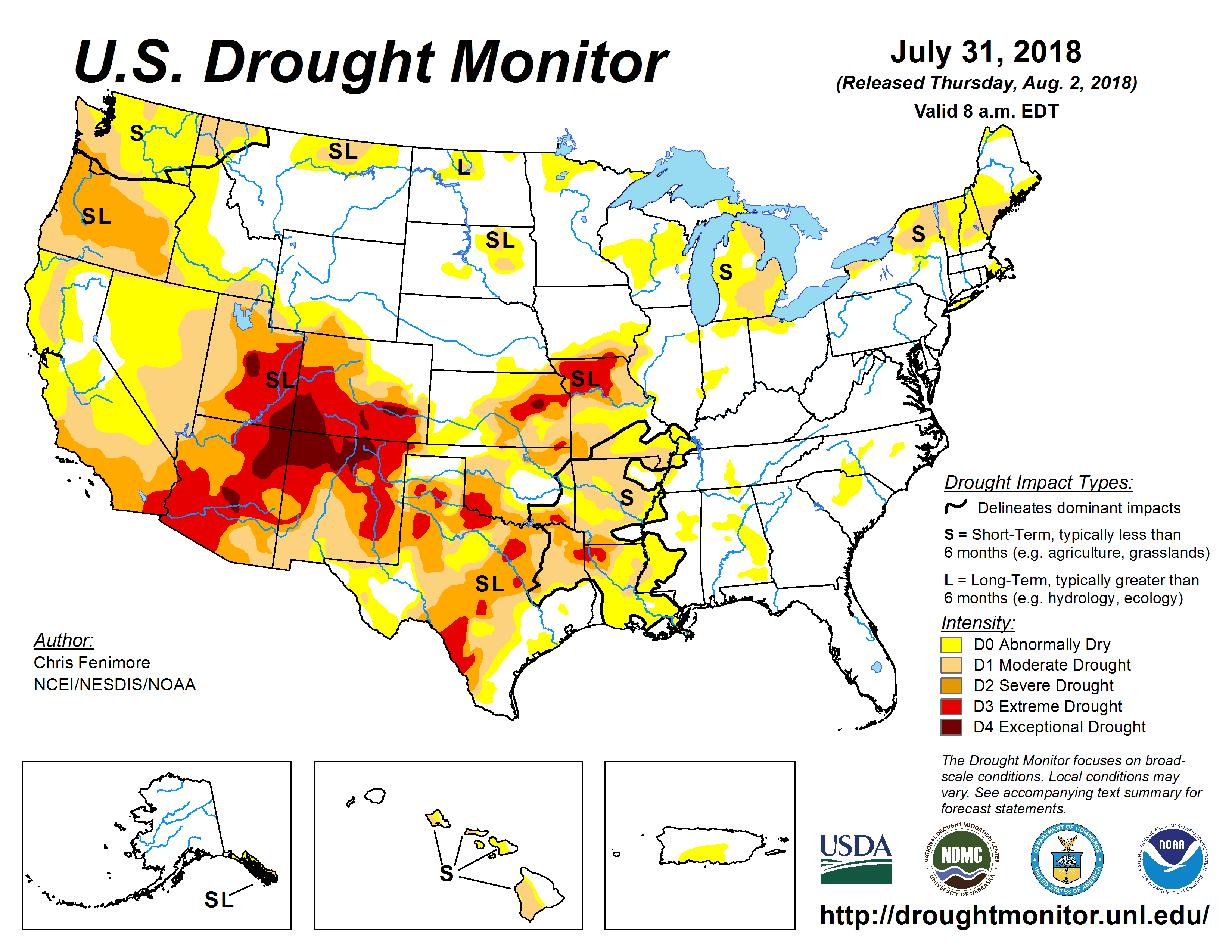 Drought in American Southwest (Revised) « MoGreenStats